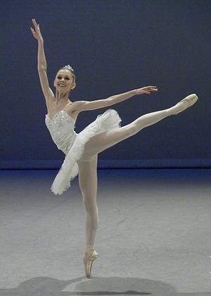 Emily Smith at the Prix de Lausanne