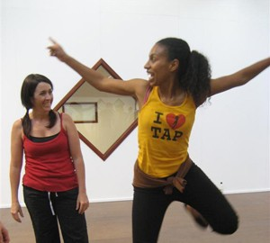 Chloe-Arnold-Teaching-Tap-Dance