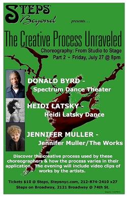 Steps Beyond Creative Process Unraveled