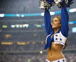 Dallas Cowboy Cheerleader and Dancer Angela Nicotera