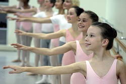 Australian Ballet School dance students