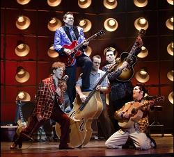Million Dollar Quartet the Broadway musical