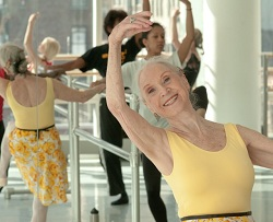 adult ballet class, the Alvin Ailey Extension