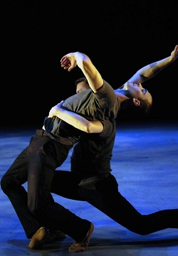Reed Luplau performs with Lydia Johnson Dance
