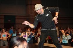 Choreographer Cris Judd