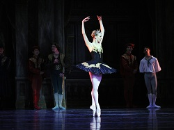 Ballerina Julia Erickson Swan Lake