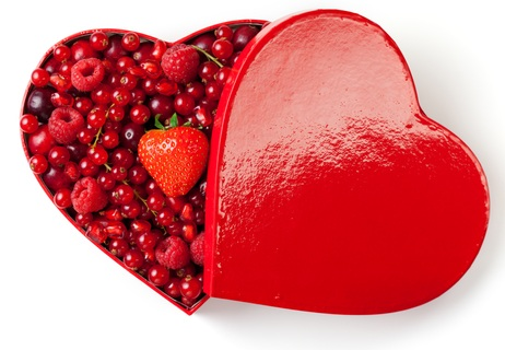 Happy Valentine S Day Five Red Foods That Are Good For Your Heart