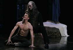 Brian Wallenberg and Jonah Hooper of Atlanta Ballet in Dracula