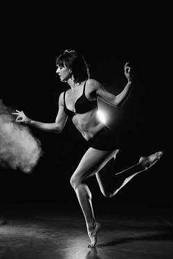 Ashley Flaner dancing for Post:Ballet