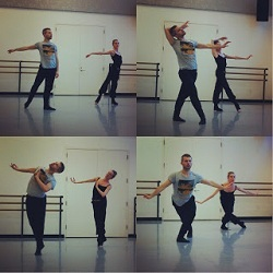 Josh Beamish and Wendy Whelan. Photo courtesy of Josh Beamish