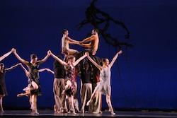 Artists of Colorado Ballet in Light - photo by Colorado Ballet