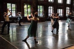 contemporary dance performance in Atlanta