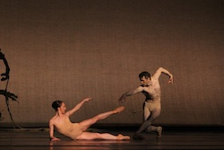 Colorado Ballet's Dana Benton and Jesse Marks in Light