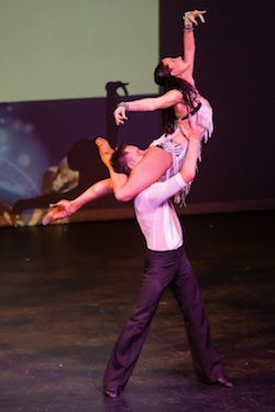 Melbourne Latin Festival 2013 - Performance by Mitch and Ellicia