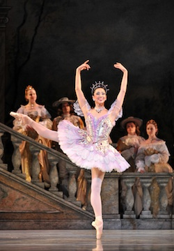 Sleeping Beauty - Melissa Anduiza - photo Peter Zay