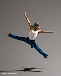 Dancer and Choreographer Jimmy Locust