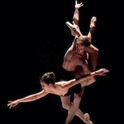 Terra Firma Dance Theatre performing pas de deux