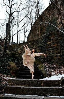 ballet dancer Anna Schon