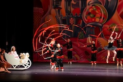 Chinese dance at The Nutcracker Project
