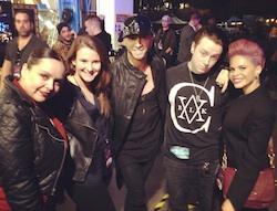 Lindsay Nelko choreographs for X Factor
