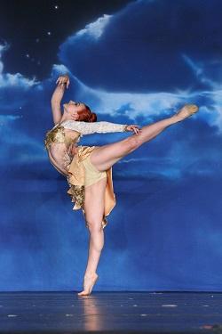 Dancer Jordan Hilgenberg