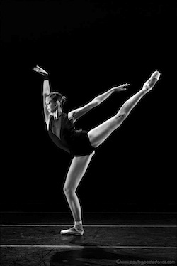 Ballet dancer Lily Nicole Balogh