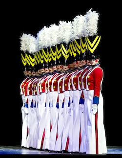 Rockettes perform Parade of the Wooden Soldiers