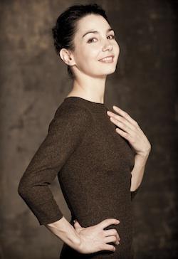 female ballet leader