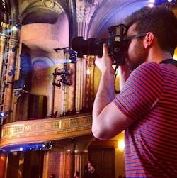 Dance photographer Matthew Murphy