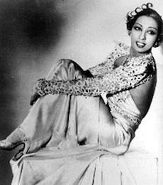 Bailarina Josephine Baker