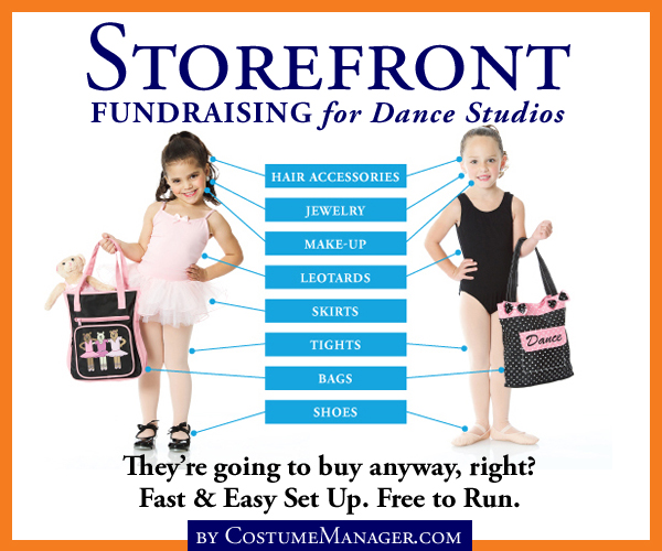 Storefront Fundraising for Dance Studios