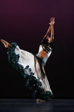 Dancer Roxane D'Orleans Juste