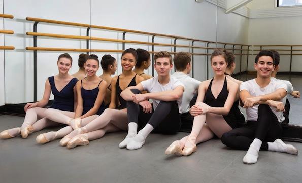 Amateur ballet dancer