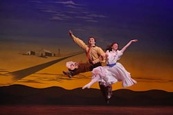 Dream Ballet in Oklahoma Musical