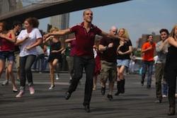 Tap dancer Ryan Kasprzak