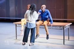 Bebe Miller Company Rehearsal