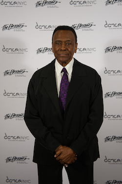 Lifetime Achievement Award recipient Arthur Mitchell at the Bessie Awards. Photo by Christopher Duggan.