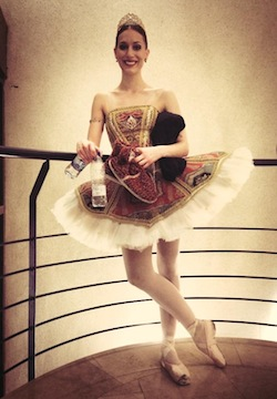 Ballet dancer Nadia Khan