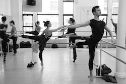 Advanced Professional Ballet class
