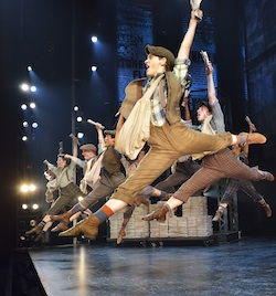 Newsies cast member Ben Cook