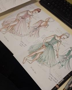 Costume Gallery design