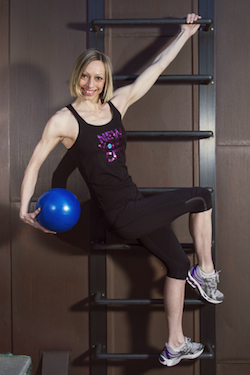 Lisa Donmall-Reeve FlyBarre fitness