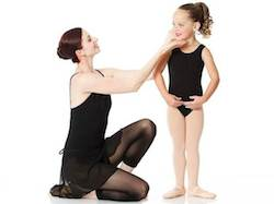 dance instructor with student 2