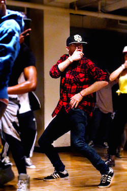 Broadway Dance Center Hip hop class
