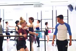 Broadway Dance Center ballet class