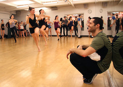Joshua Bergasse master class Broadway Dance Center
