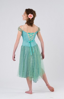 Degas inspired dance costume by Costume Gallery and Dance Informa.