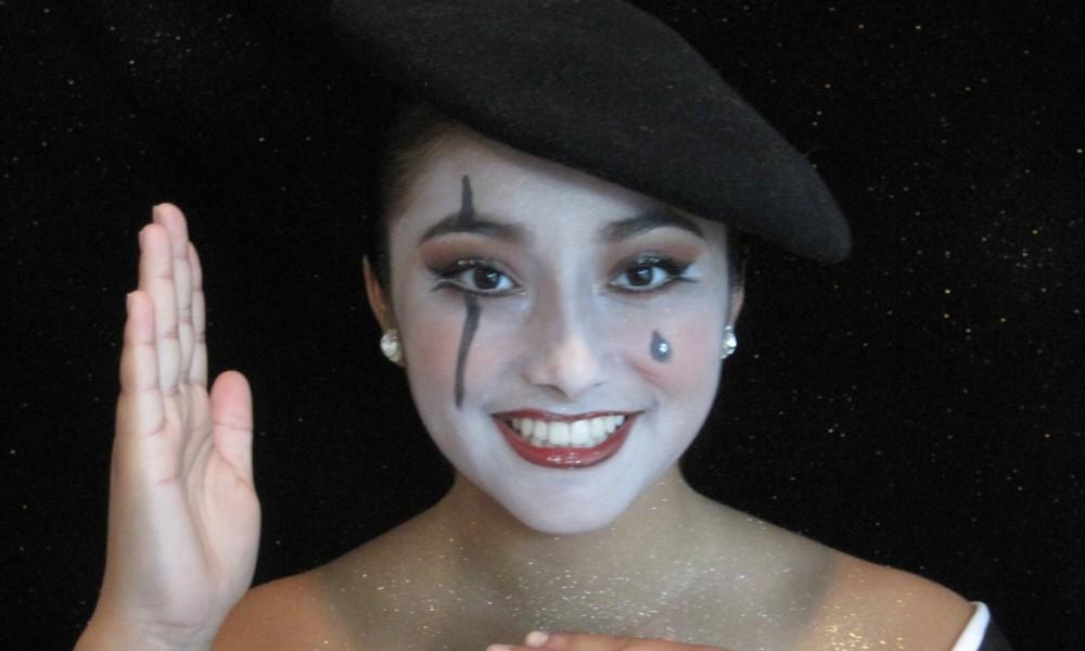 mime and harlequin makeup dance informa magazine. Black Bedroom Furniture Sets. Home Design Ideas