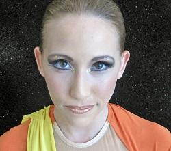 Egyptian stage makeup tutoirial