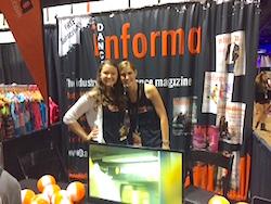 Dance Informa Booth